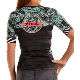 Zoot LTD Maillot de triathlon manches courtes Aero Femme, tokyo